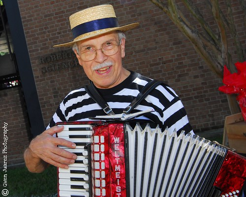 Accordian Man