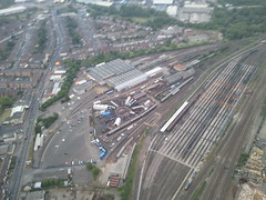 Tyseley Locomotive Works, Birmingham (West Midlands Police) Tags: birmingham aerialview aerial helicopter westmidlands tyseley westmidlandspolice ao1 tyseleylocomotiveworks