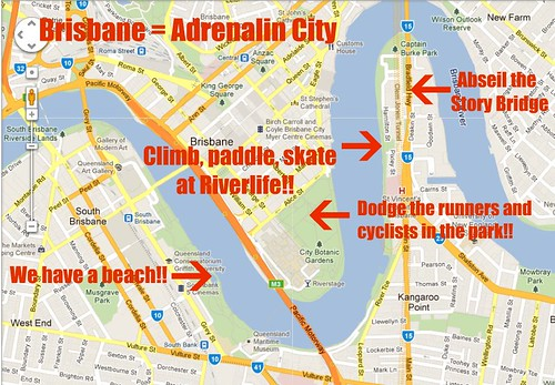 Brisbane city adrenaline