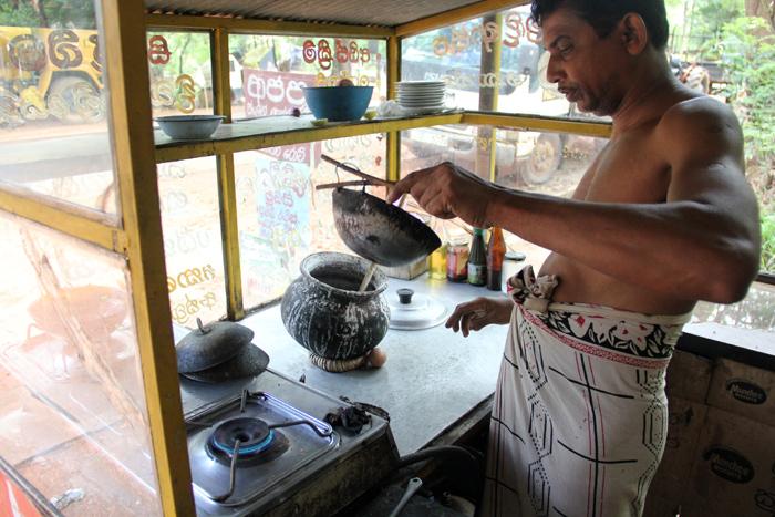 Cooking Sri Lankan Hoppers