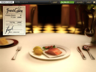 French Cuisine Bonus Game