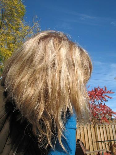 Autumn 2008 - I liked my hair