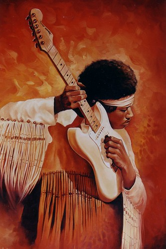 Jimmy hendrix by J.nogues