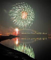 DSC_5852 (stewart charnock) Tags: bridge river nikon fireworks mersey runcorn widnes halton d7000
