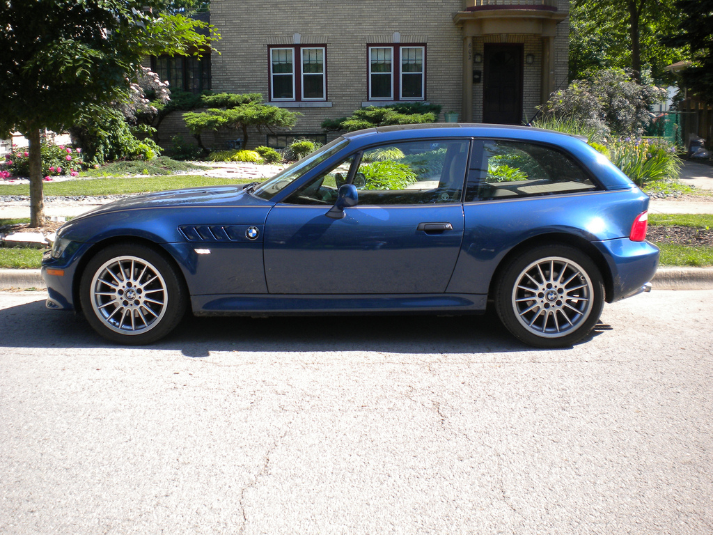 2001 Z3 Coupe  Topaz Blue  Beige  Coupe CartelCoupe Cartel