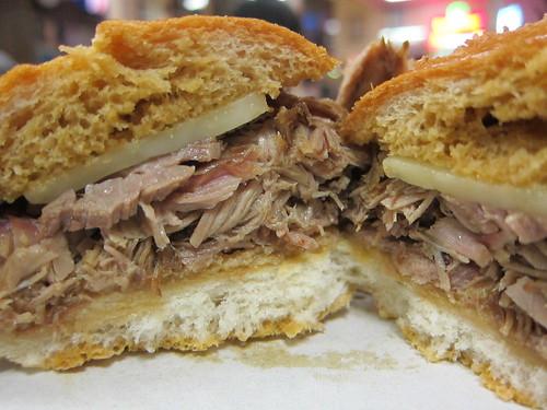 Philippe's: Lamb Dip Sandwich