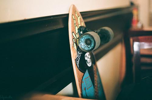 Nam's long board by Qskulls™