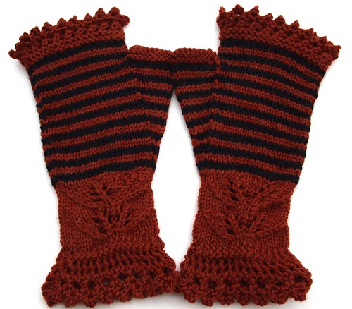 Andrea's mitts for Hannah