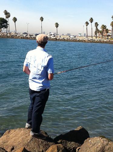 Drew fishing