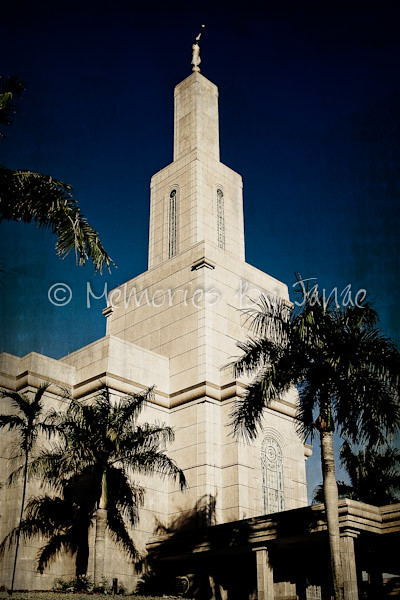Santo Domingo Dominican Republic Vintage LDS Temple Prints -
