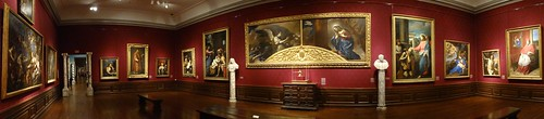 Ringling Museum, gallery view