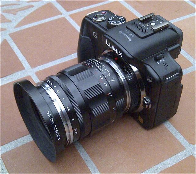 Panasonic G3 Voigtlander 35mm f/1.2 Nokton