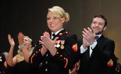 Marine takes Timberlake to ball [Image 1 of 3]