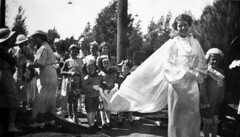 Margaret (Peggy) Ann Moyls, Queen of Dunbar and West Point Grey, coronation day