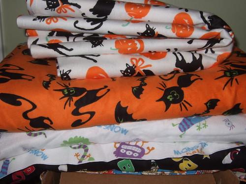 Halloween flannels