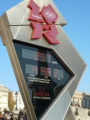 London 2012 Olympic Games Countdown Countdown (Photo credit: givingnot@rocketmail.com)