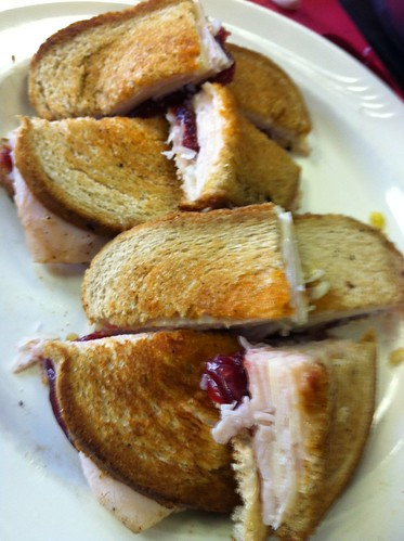 Thanksgiving Leftovers: Turkey Reuben with Cranberry Sauce