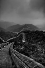 The Great Wall of China  Tilt Shift (Sprengben [why not get a friend]) Tags: world china city wedding summer sky music newyork paris art japan skyline clouds skyscraper observation hongkong tokyo bay harbor amazing rainbow nikon asia ship artistic time gorgeous awesome watch hamburg elevator beijing style symmetry divine international stunning metropolis charming foreign fabulous badaling thewall hdr mutianyu peking linear englandlondon greatwallofchina innermongolia jinshanling qindynasty engaging mingdynasty shanhaiguan handynasty travelphotography  d90 photomatix travellight d3s chineseempire 10000lilangemauer sprengbenurban wnlchngchng zhngguchngchng