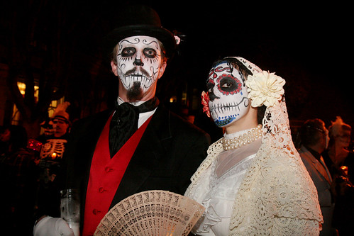 Day of The Dead Makeup Couple Day of The Dead Couple