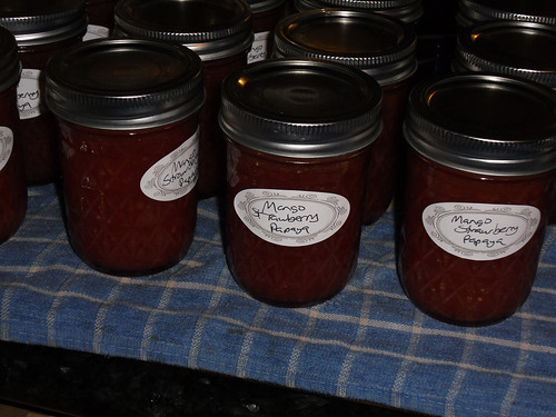 Mango Strawberry Papaya Jam