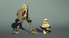 updated At-Rt - 1 ( {imiduck non pro) Tags: terrain star all lego luke transport hans solo darth r2d2 clones wars vader c3po skywalker atrt recon