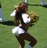 Charger Girls-029 (tolousse59) Tags: california girls sexy football pom high cheerleaders dancers legs sandiego boots kick nfl briefs cheer cheerleading miniskirt chargers pons spankies