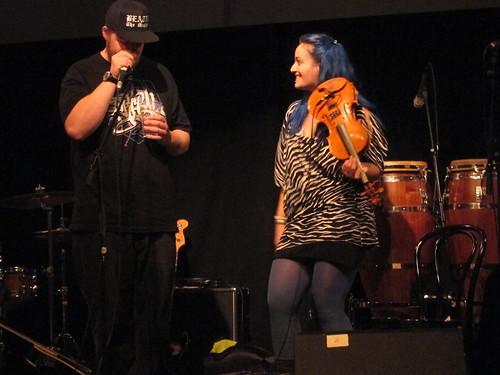 Beatur & @ Open Xpressions 9th Nov 2011
