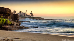 La Jolla (Eddie 11uisma) Tags: sunset seascape beach landscape la san long exposure diego filter nd grad jolla cokin colorphotoaward