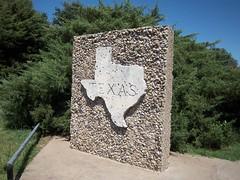 Where Am I? (fables98) Tags: texas historic redriver stateborder texasstateline texashistoricalmarker burkburnett wichitacounty