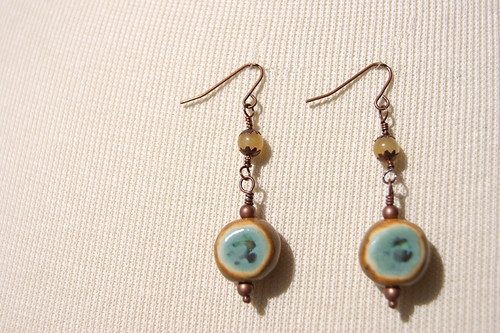 Boho Beach- Butterfly Breeze Earrings