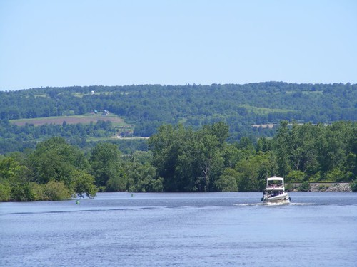 Rounding the river bend