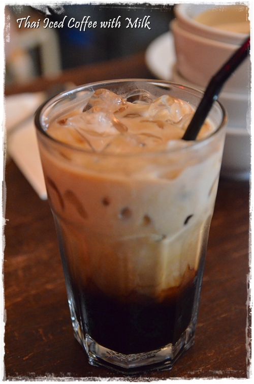 Thai Iced Coffee with Milk
