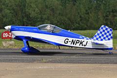 G-NPKJ (QSY on-route) Tags: club aero lincon sturgate egcs gnpkj 04062011