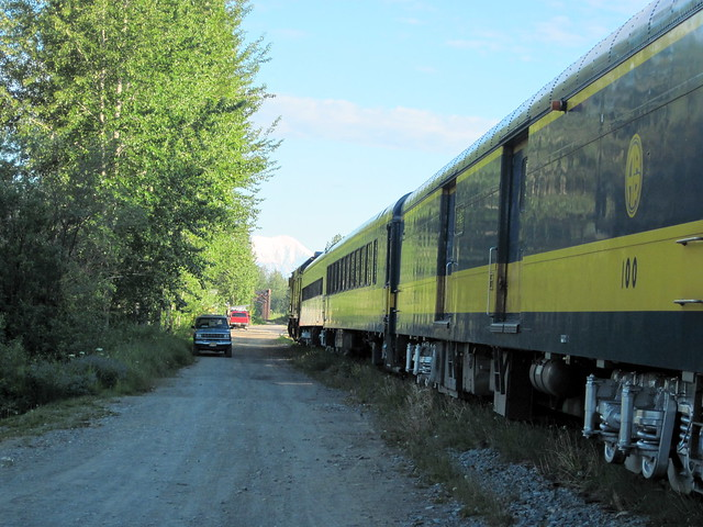 Great Alaskan Railway atTalkeetna Station 20110618