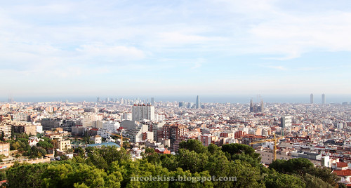barcelona city from park guell_large