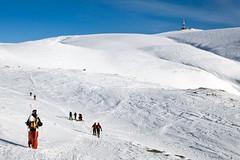 Sinaia - lyžování v Rumunsku