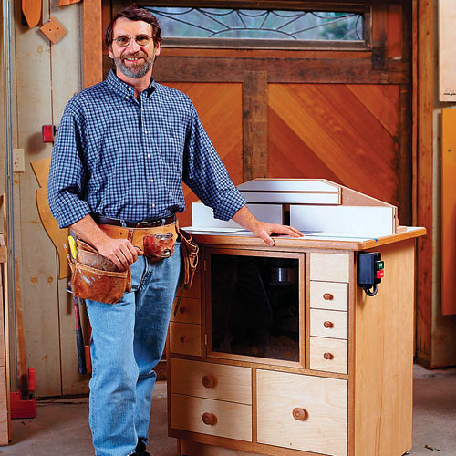 Toolbox tuesday a good router table only adds to a routers value anyhow one of the really nice things about the plans is that they rely on a rockler package for the table top this package includes the router table keyboard keysfo Gallery