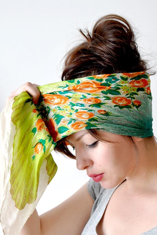 Как завязывать шарфы, платки.
