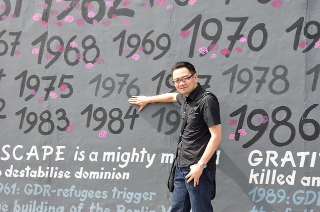 柏林墙 Berlin wall