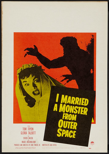 I Married a Monster from Outer Space (1958) Window Card