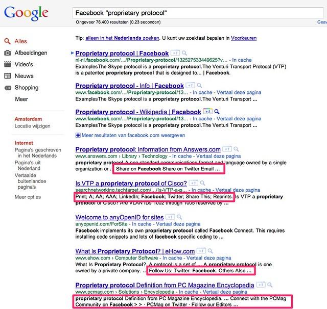 facebook _proprietary protocol_ - Google zoeken-1
