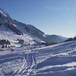 Skifahren Les Mosses