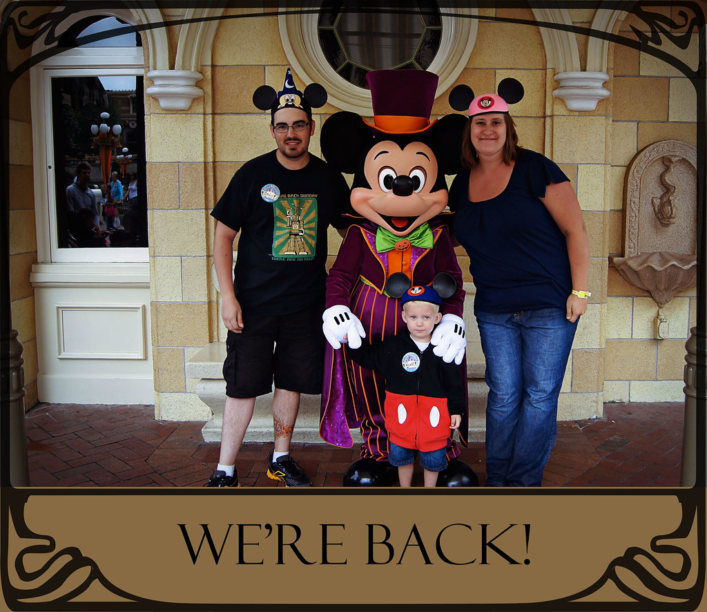We're back from our Disneyland vacation!