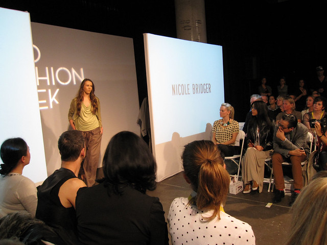 Nicole Bridger fashion show