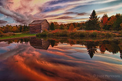 John Brown Farm, North Elba, NY (Adirondack Park) (Jaime Martorano) Tags: travel sunset ny newyork fall canon farm adirondacks 7d hdr adirondack lakeplacid johnbrown johnbrownsfarm northelba