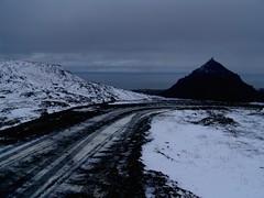 Bergpiste zum Wunderberg Snaefellsjökull