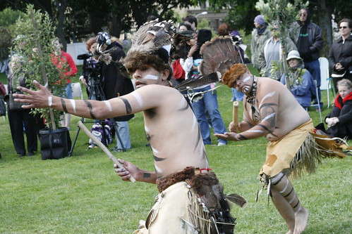 Ohlone Tribal Dancers
