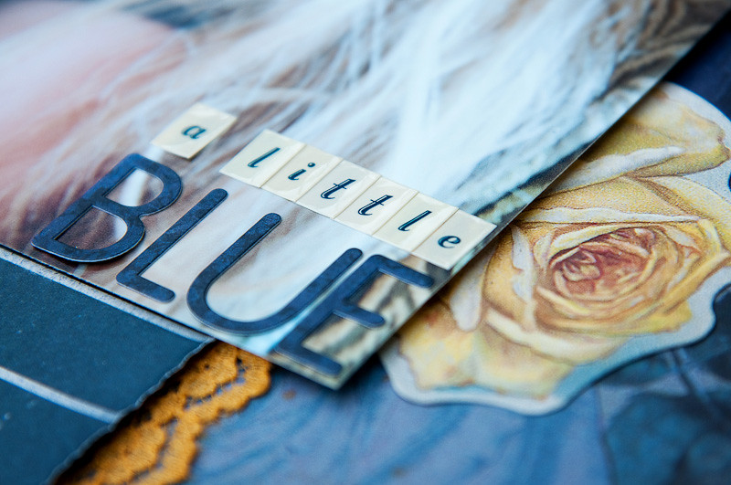 A Little Blue {detail}