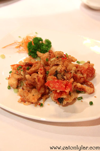 Deep fried soft shell crab, Lai Ching Yuen