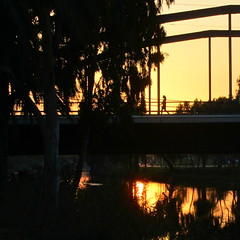 sunset (Neta Gov) Tags: bridge sunset telaviv yarkon silluette netagov ringexcellence